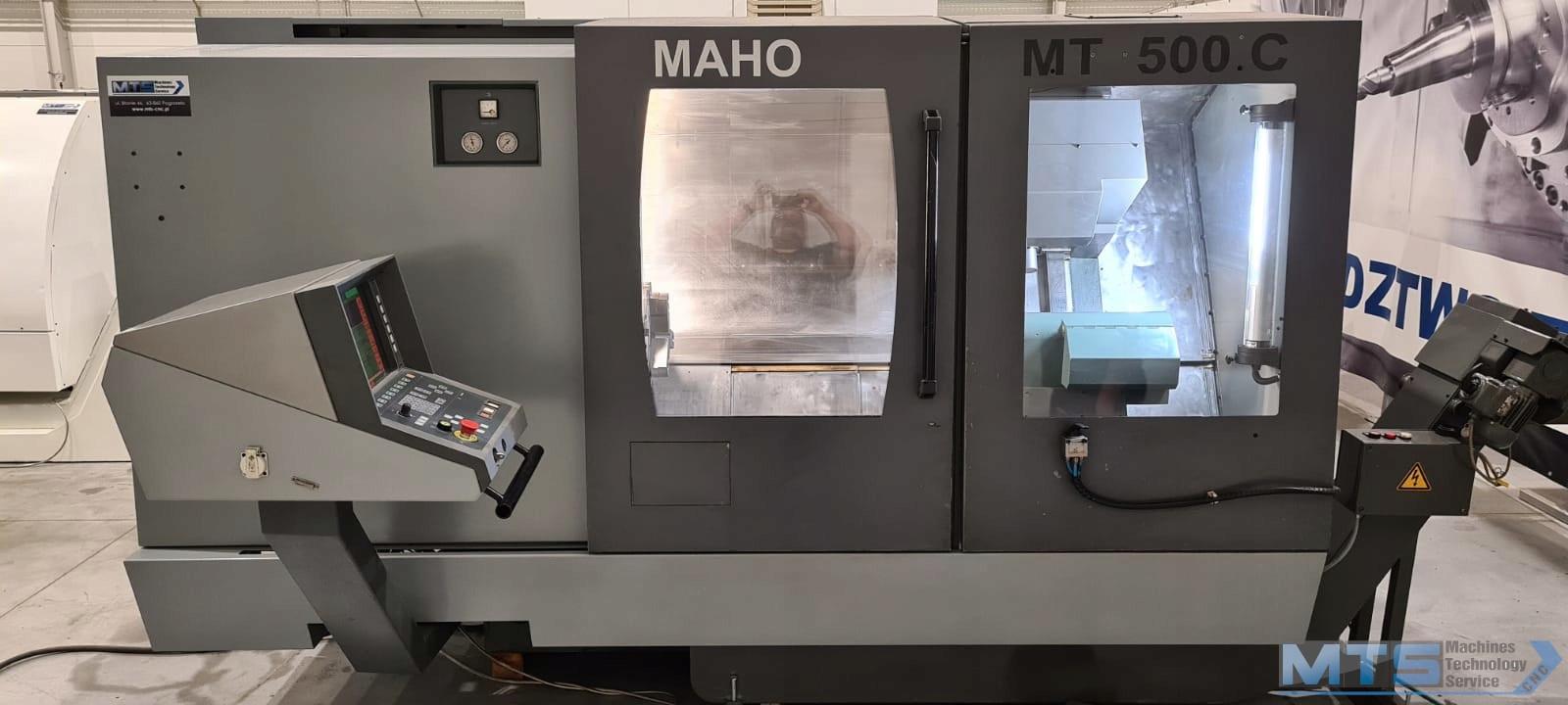 Tokarka DMG CNC MAHO GRAZIANO MT500C netto 80910zł
