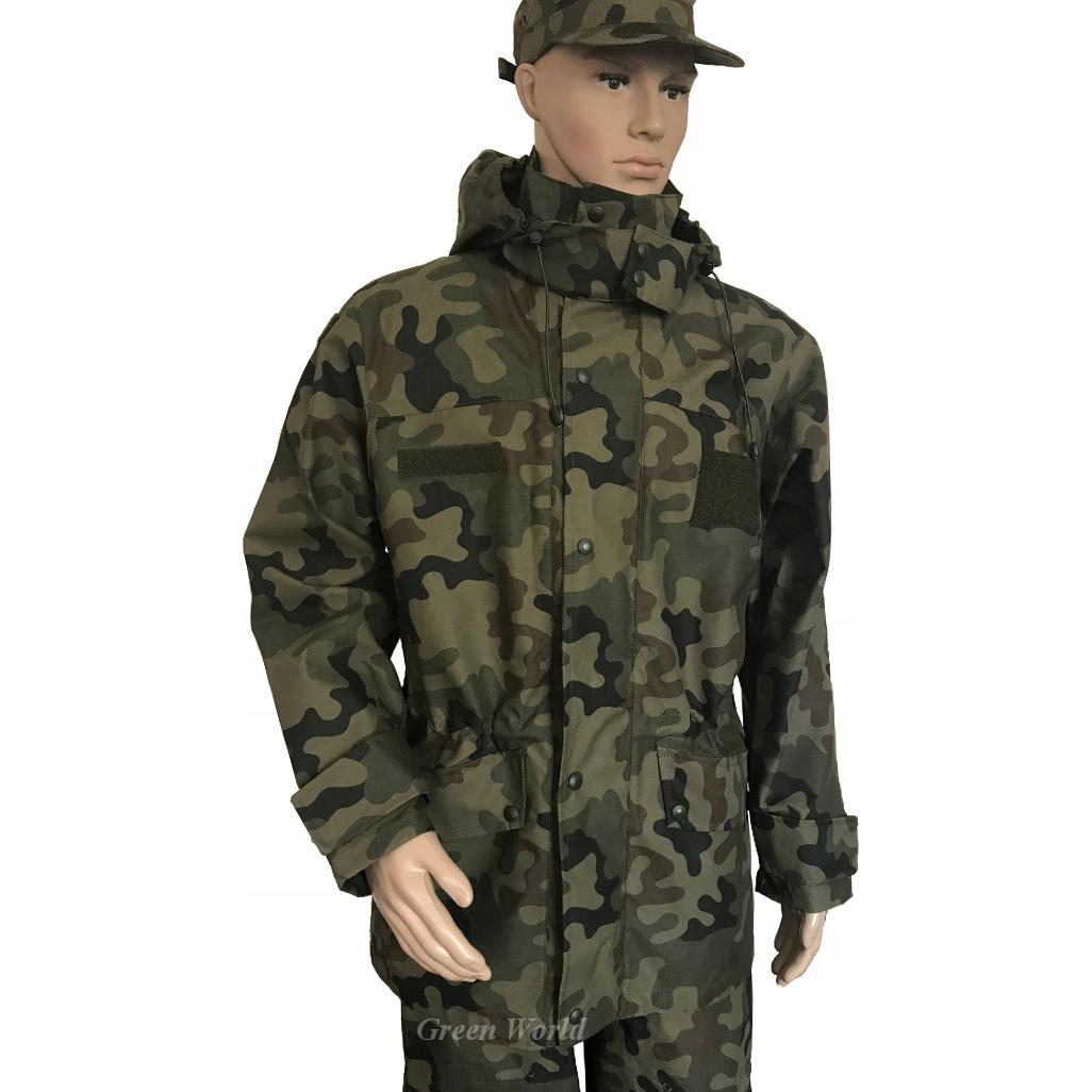 KURTKA wojskowa GORE-TEX GORETEX 128 MON