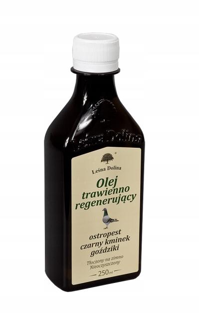 Пищеварительное и регенерирующее масло 250 мл Лесная долина