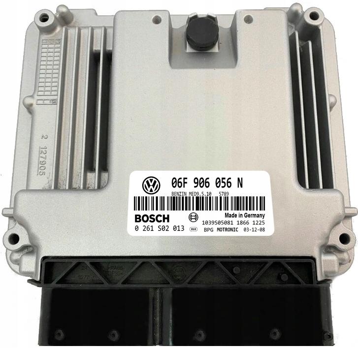 Изображение ECU VW TOURAN 2.0 MED9.5.10 06F906056N 0261S02013