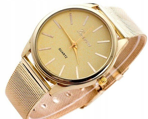 Item WOMEN's WATCH ANALOG GOLD CLASSIC a58
