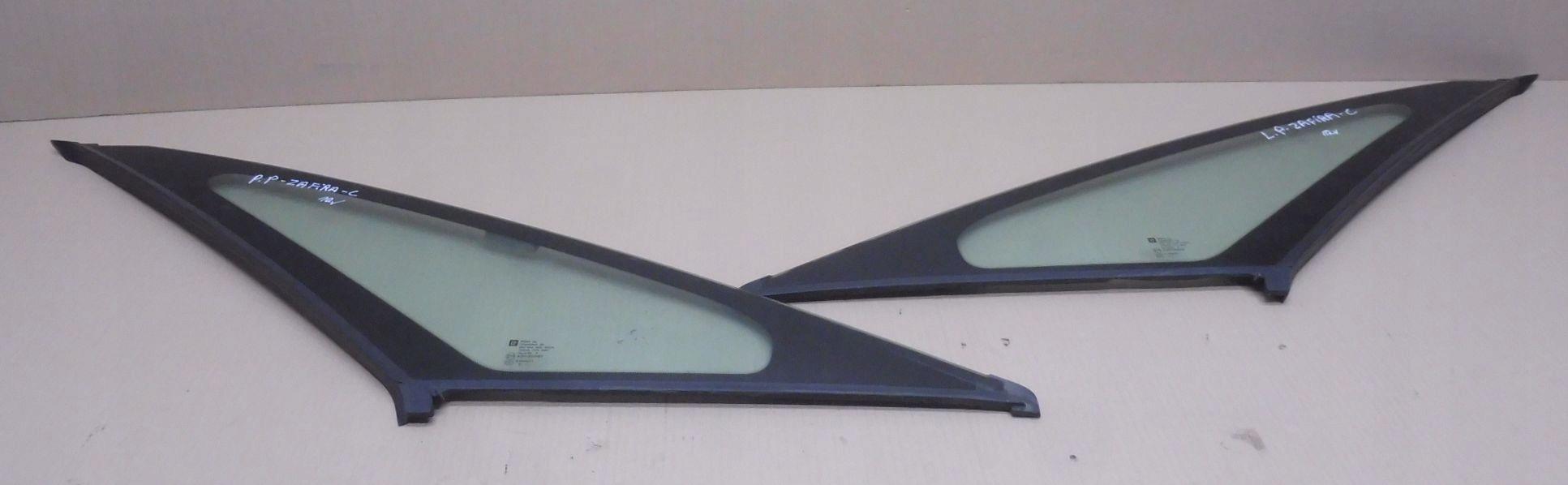 стекло karoseryjną вперед слева права opel zafira c