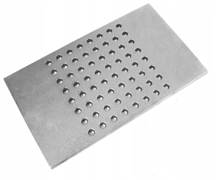 ЧУГУННАЯ решетка для камина или КАМИНА Печь 43x25