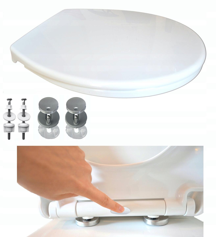 сиденье для унитаза с медленным закрыванием CERSANIT CIRCLE universal