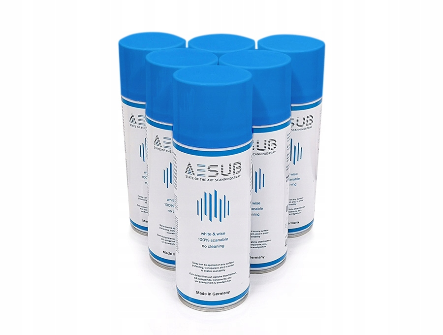 AESUB Blue spray do skanowania 3D - 12 szt