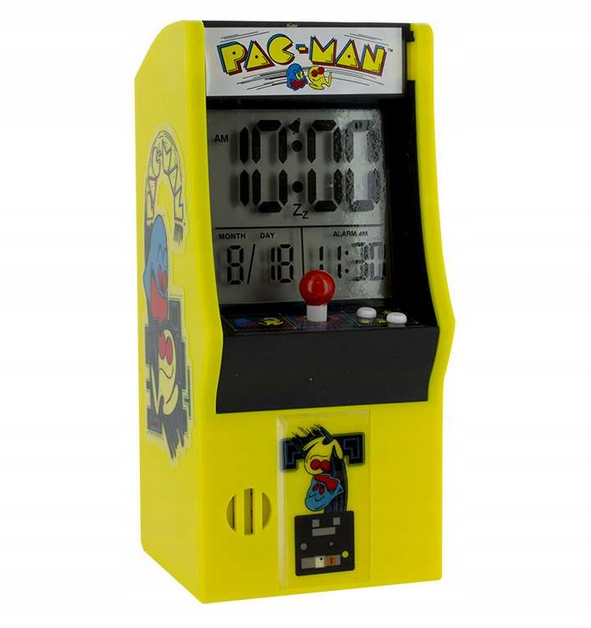 Budík Pac Man RETRO GAMING AUTOMATIC WATCH