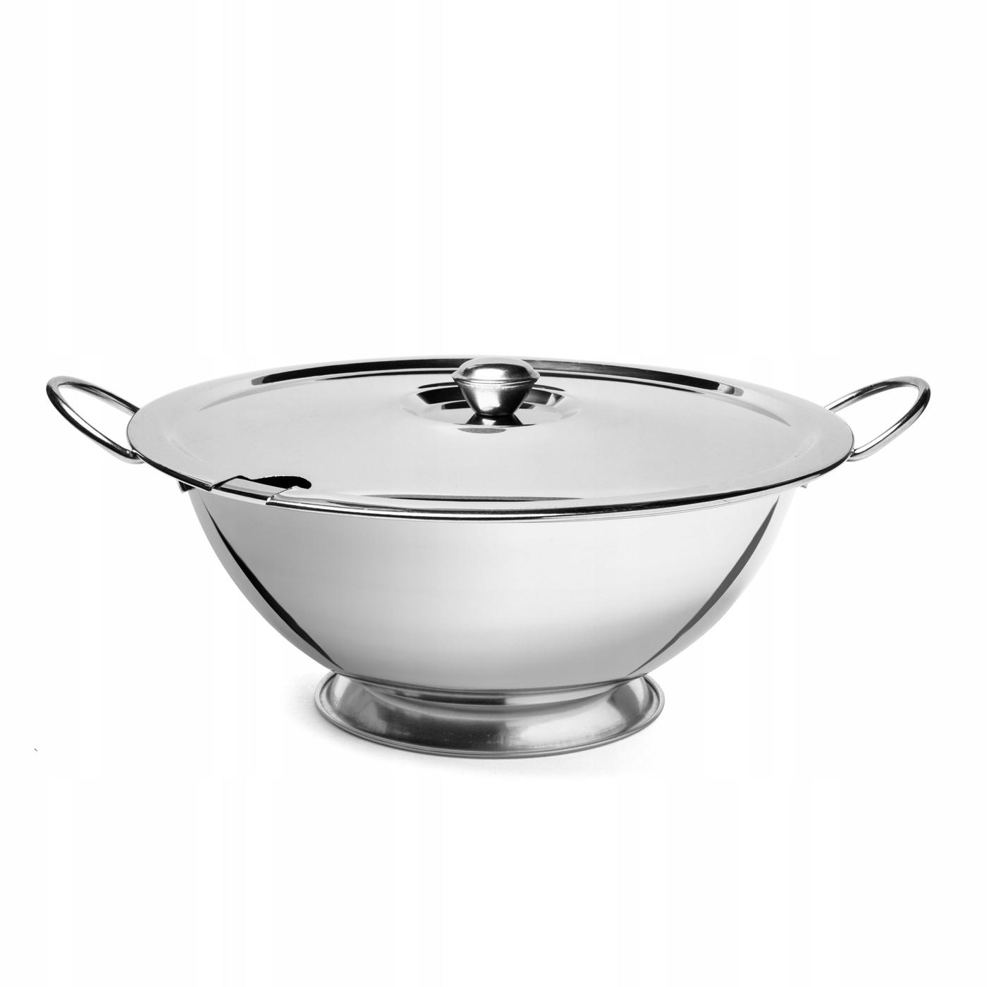 Стальная суповая ваза, Тадар кухня, 2,5 л