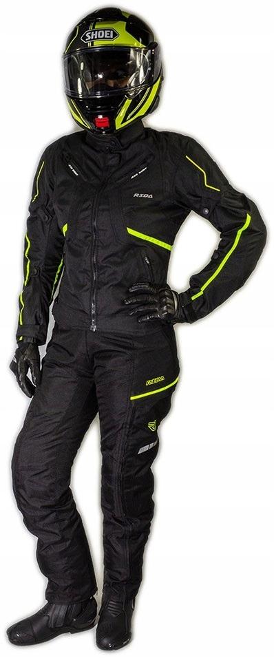 Кожанная куртка мотоциклетная женская lady sportowa, фото 4