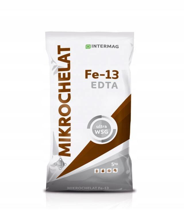 Микрохелат железа Fe 13 5 кг сыпучих удобрений Intermag
