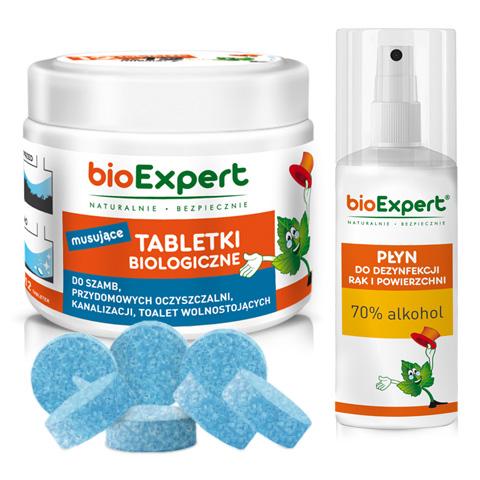 таблетки для выгребных ям 12 шт. bioExpert + жидкость БЕСПЛАТНО