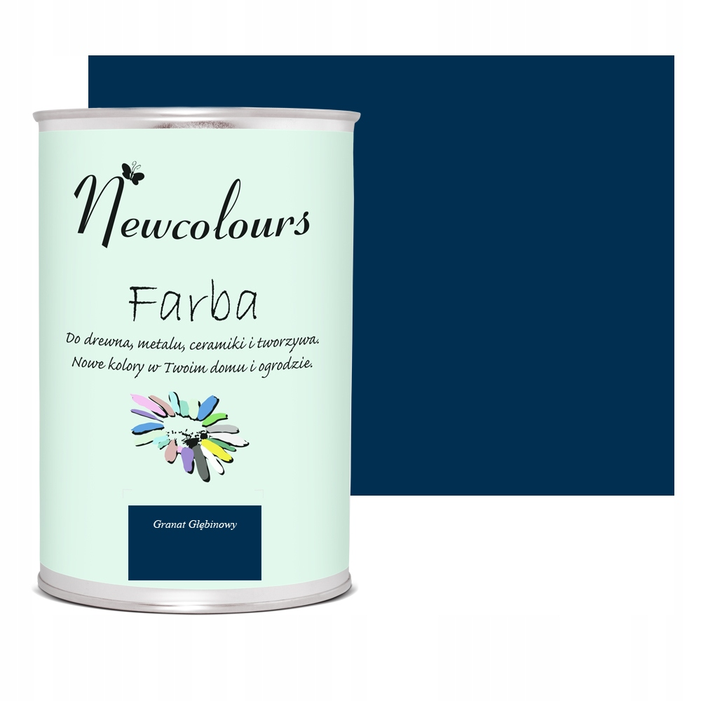 Краска для мебели Newcolours Deep Granat 900мл
