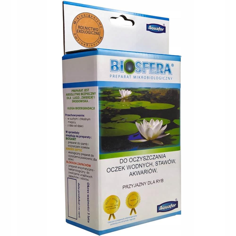 Biosfera Preparat do Oczek Klarowanie Wody Glony