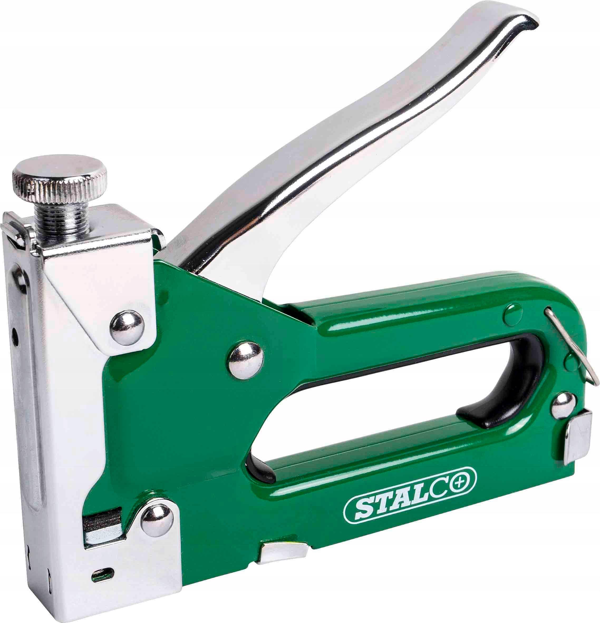 Степлер стальной обивочный 4-14мм Stalco
