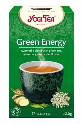 Зеленый энергетический чай GREEN ENERGY YOGI TEA