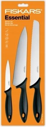FISKARS 3 noże zestaw Szefa Kuchni Essential 23784