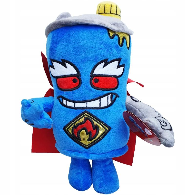 Maskot SUPER ZINGS Plyšová hračka Superzings MR KING