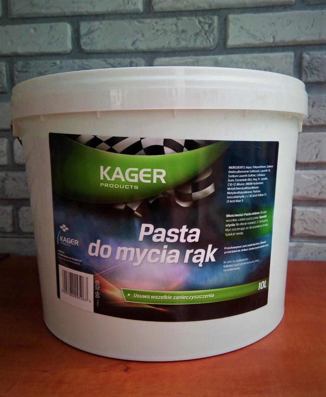 Паста BHPdo ручная стирка КАГЕР 10 л плотный увлажняющий бренд Кагер