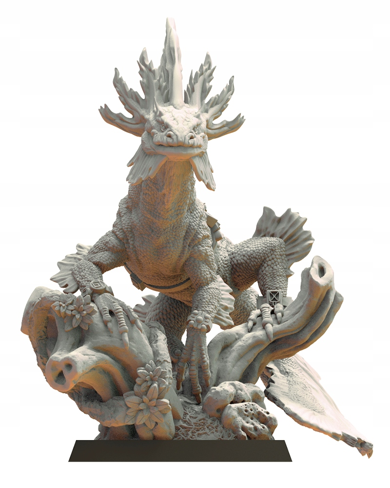 BackgroundHuatl / Salamandra - stratené kráľovstvo - 3D tlač