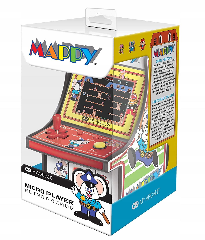ARCADE GAME Micro Player Retro Mappy CONSOLE