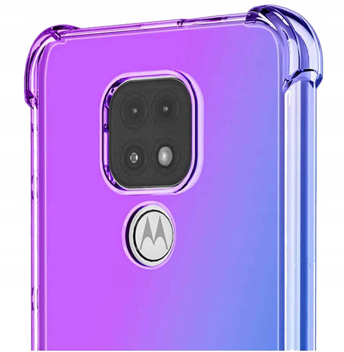Etui do Motorola Moto G9 Play ANTI-SHOCK + Szkło Dedykowany model Motorola Moto G9 Play