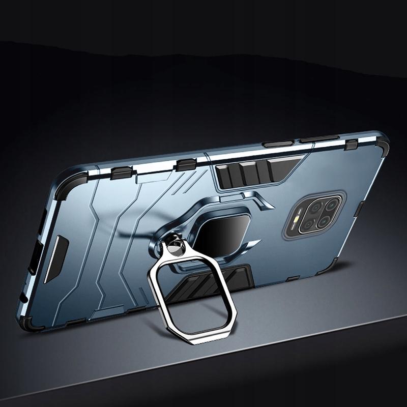 Etui do Redmi Note 9S 9 Pro Ring Case Uchwyt Szkło Dedykowany model Xiaomi Redmi Note 9s