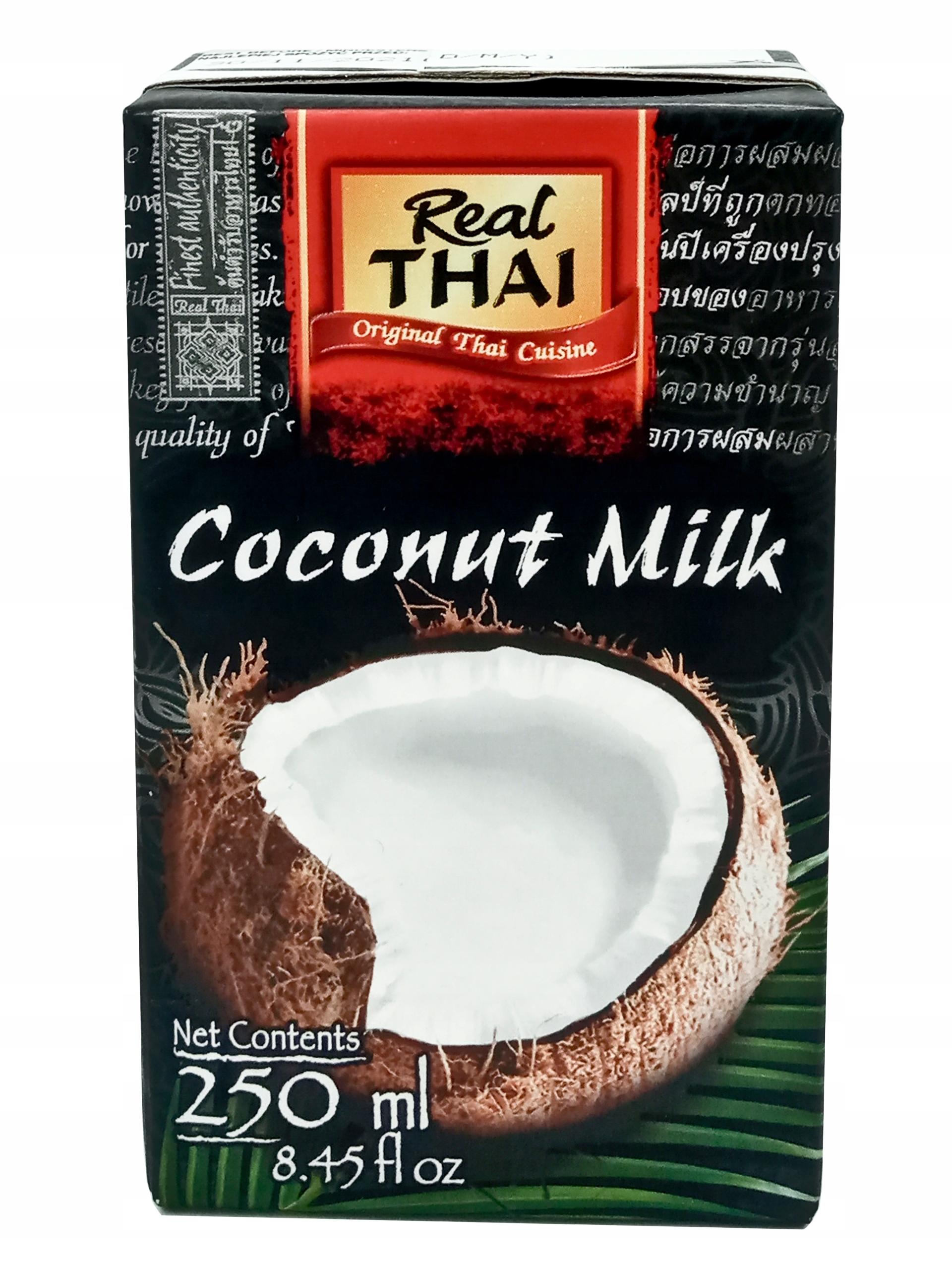 Mleko kokosowe Real Thai 250 ml