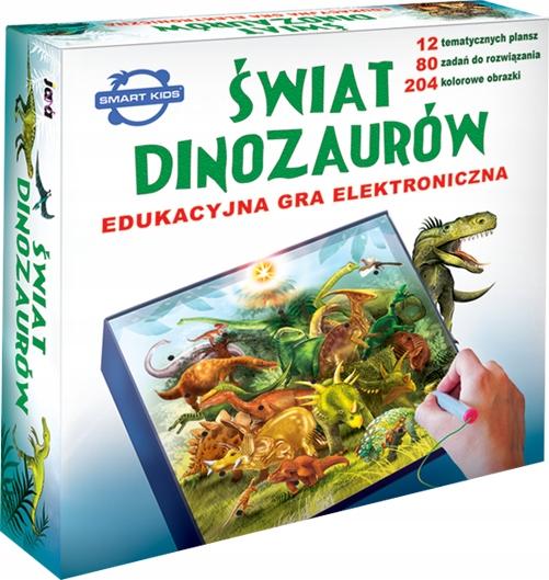 GRA EDUKACYJNA ŚWIAT DINOZAURÓW gra o dinozaurach