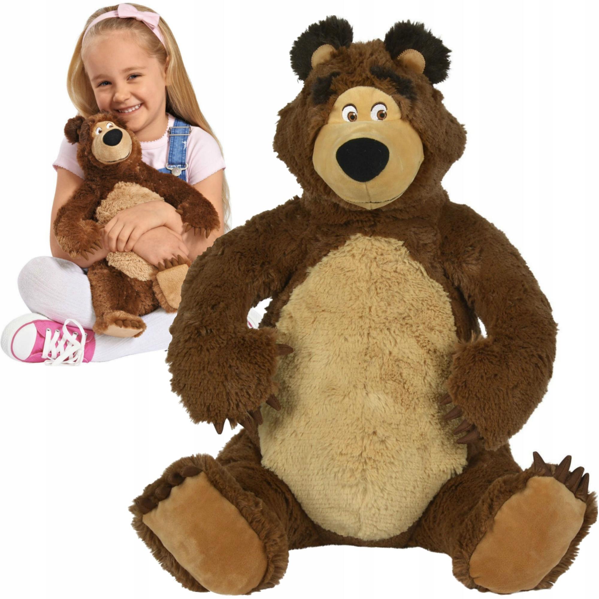 Máša a medveď veľký medveď maskot 50cm simba