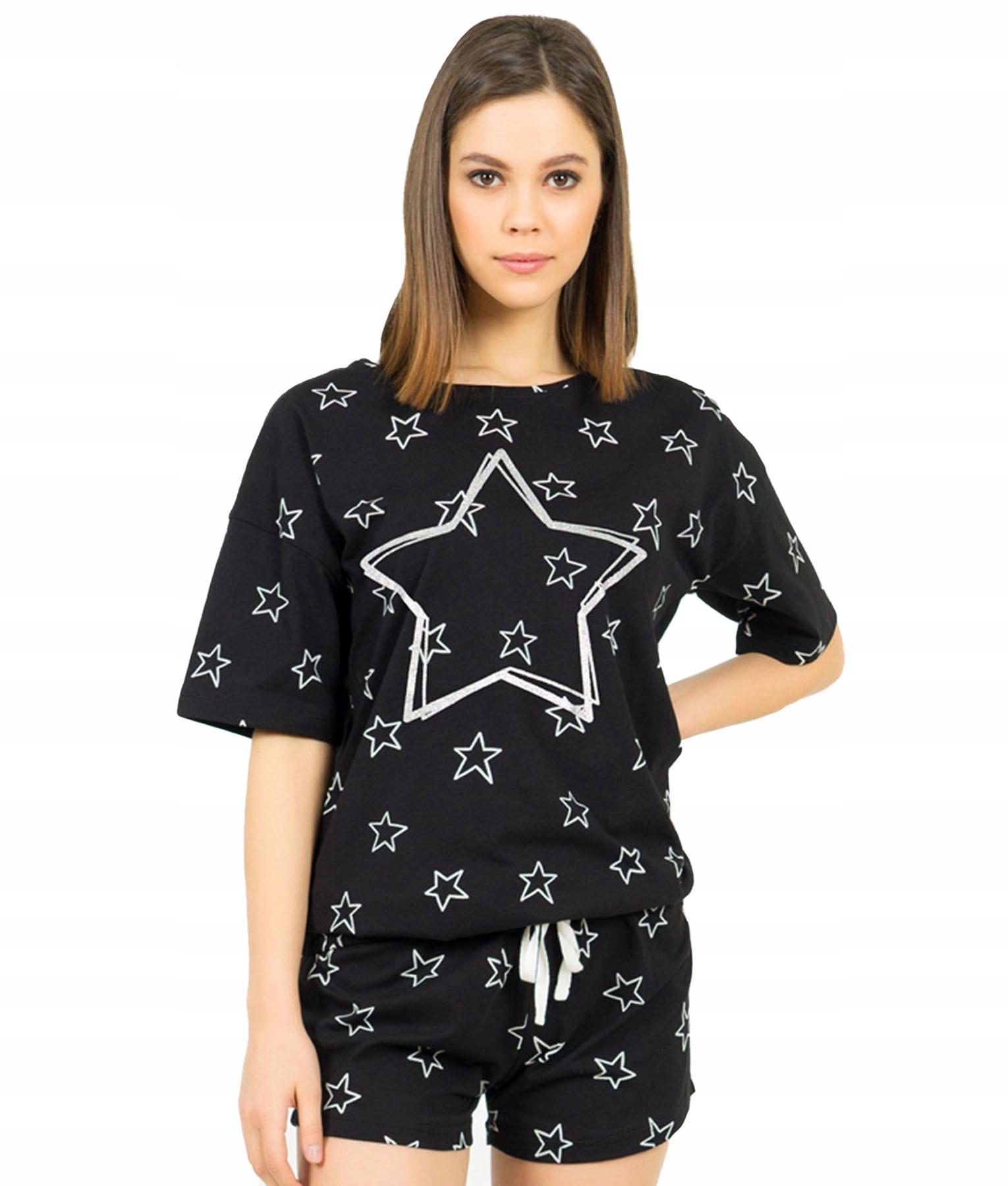 Купить Женские пижамы звезды шорты хлопок M на Otpravka - цены и фото - доставка из Польши и стран Европы в Украину.