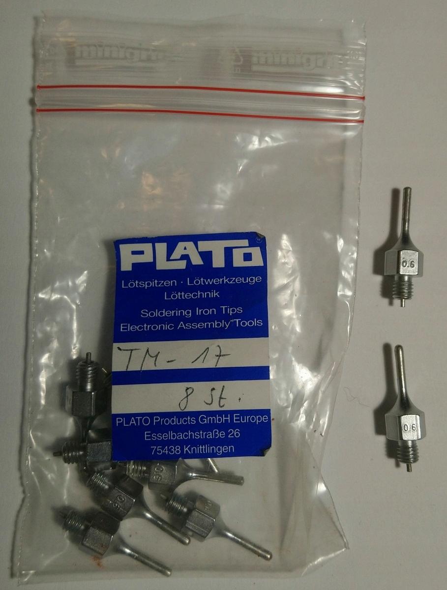 Odpájacia tryska Weller DS 115, Plato TM-17
