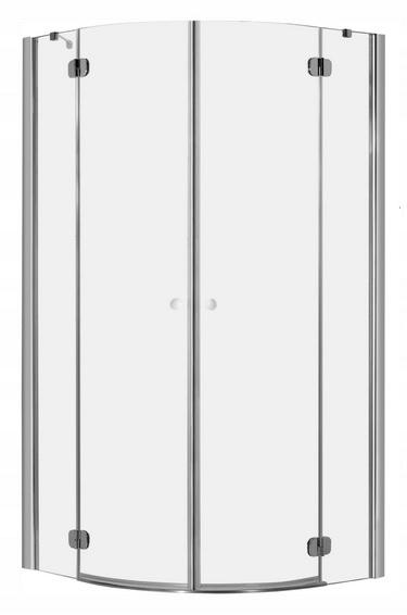 Polkruhový sprchovací kút Torrent PDD 80x80 RADAWAY
