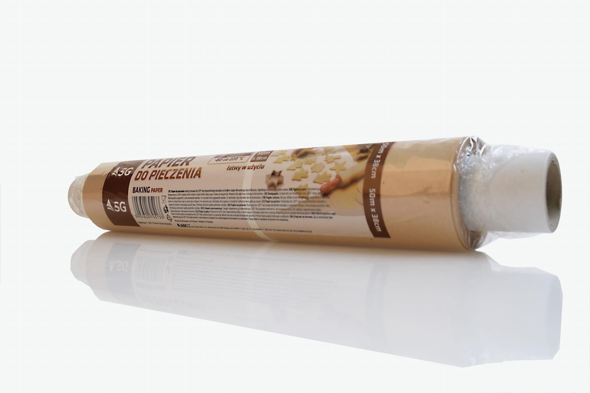 Бумага для выпечки в рулоне 50m/38cm CHEAPEST!