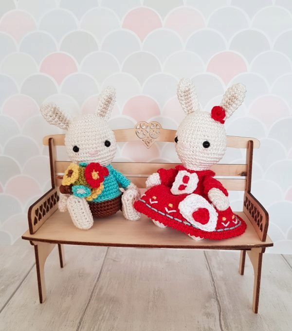 Item Rabbits - patterns for crochet, design pdf in Polish