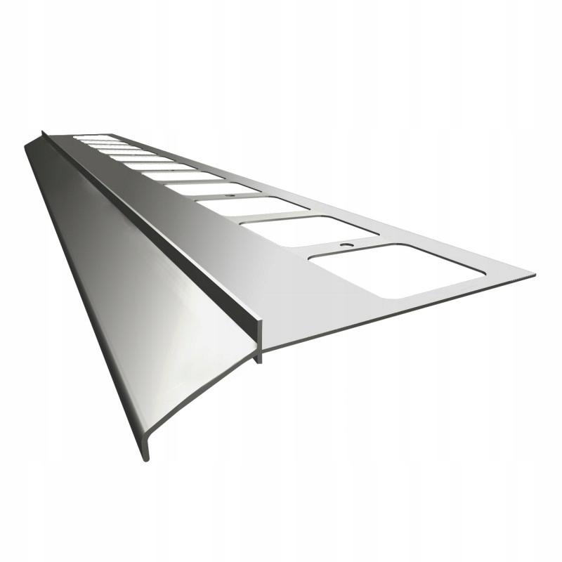 Карнизный профиль K100 Renoplast для террас и балконов