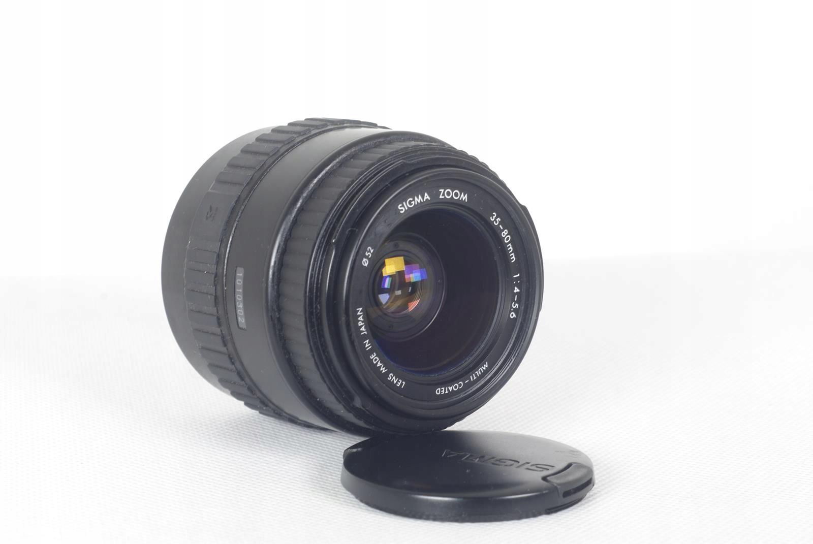 Купить SIGMA MC ZOOM 4-5,6 / 35-80MM - байонет EF на Otpravka - цены и фото - доставка из Польши и стран Европы в Украину.