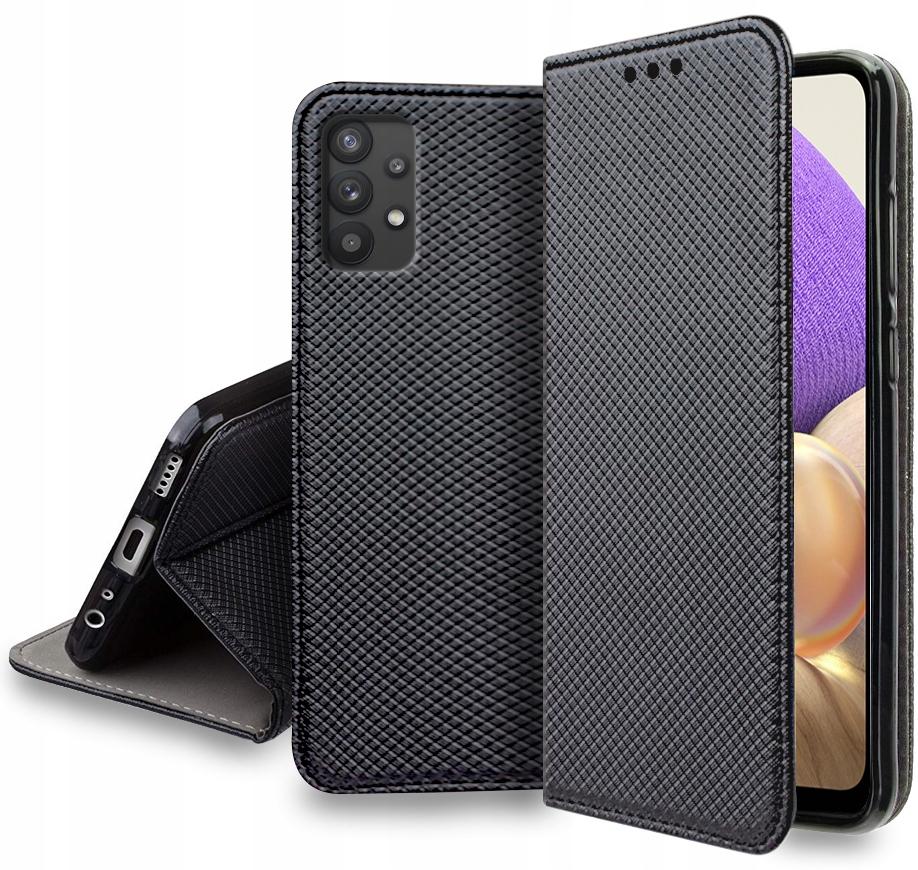 Etui MAGNET do Samsung Galaxy A32 4G Smart + Szkło