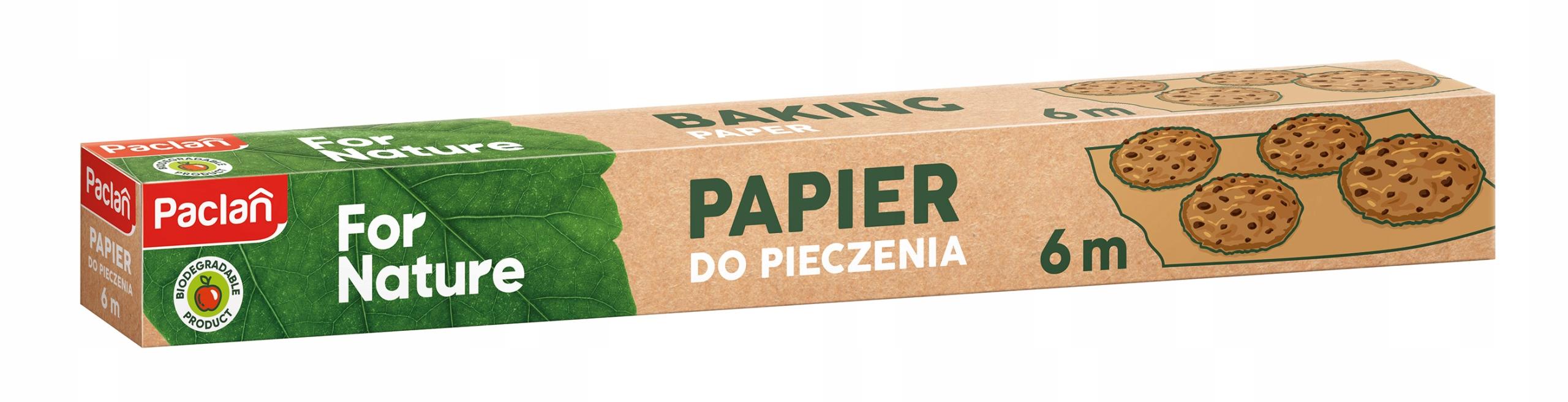 PAPIER DO PIECZENIA PACLAN FOR NATURE EKO BIO 6 M