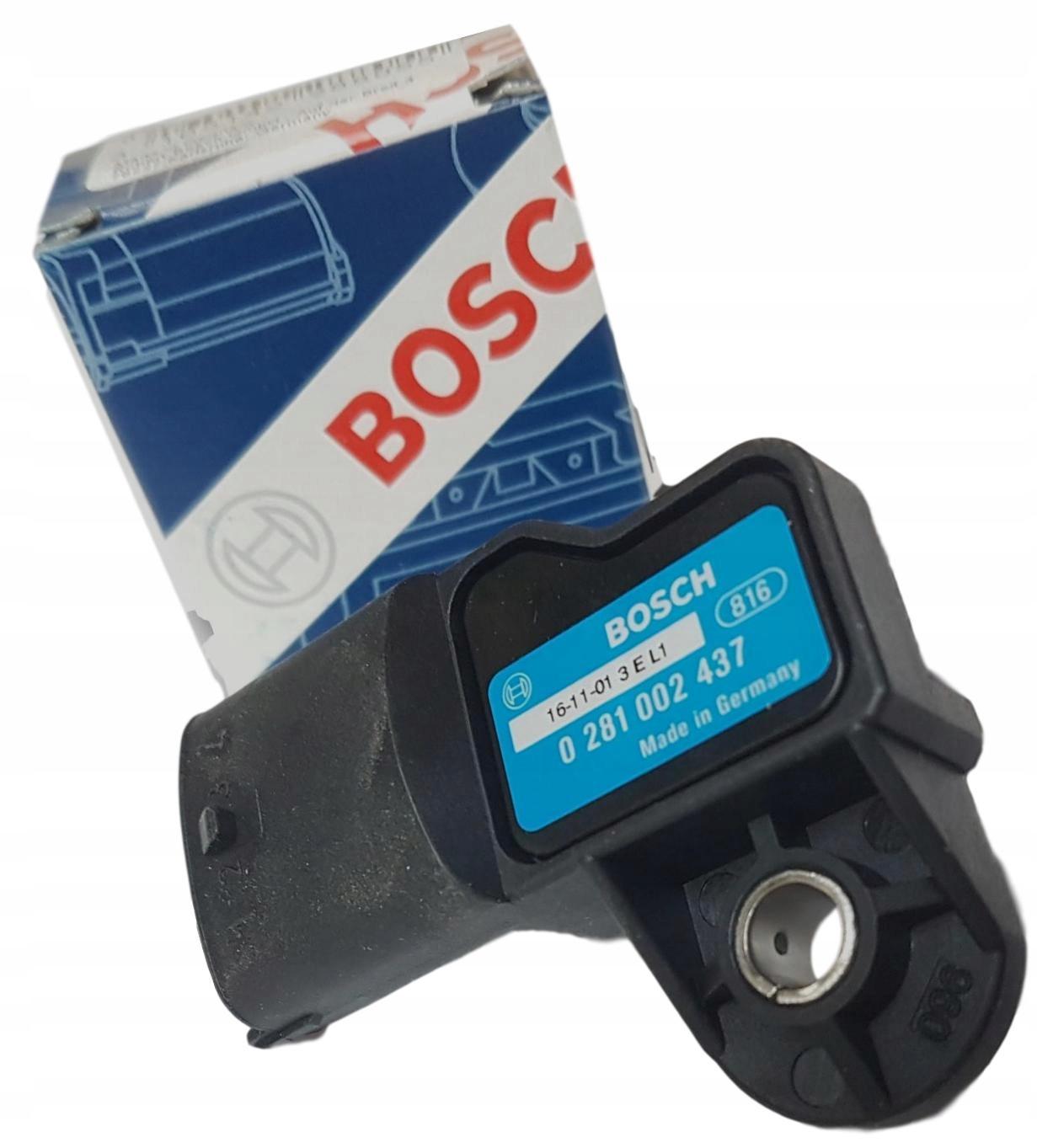 bosch 0281002437 датчик давления наддува