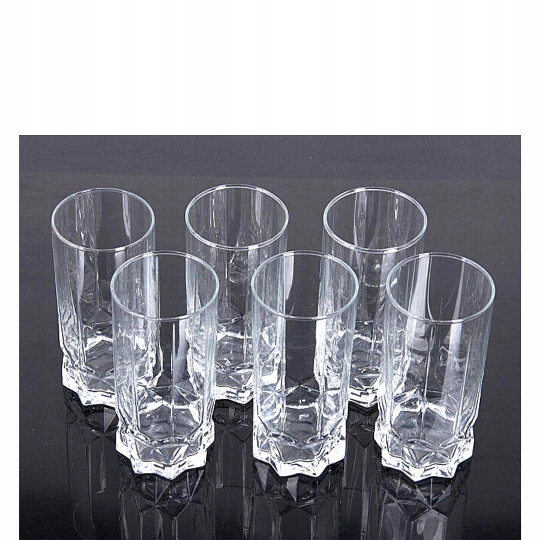 ZESTAW SZKLANEK DO DRINKÓW NAPOJÓW 6 SZT AMBITION Materiał wykonania szkło