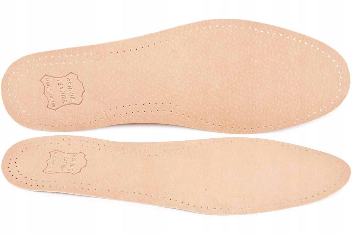 КОЖАНЫЕ стельки для обуви ANTI-SWEAT LEATHER размер 37