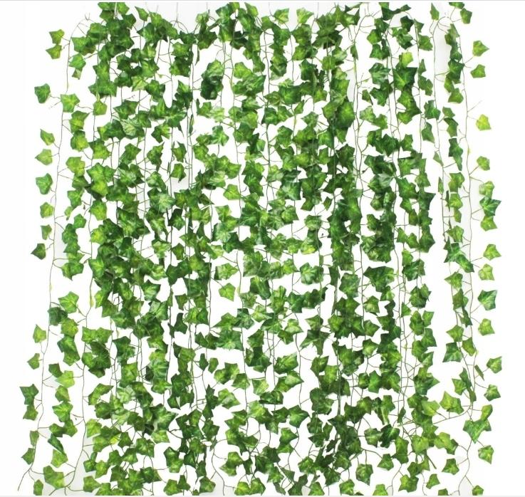 Плющ мелколистный.Искусственное растение для украшения.