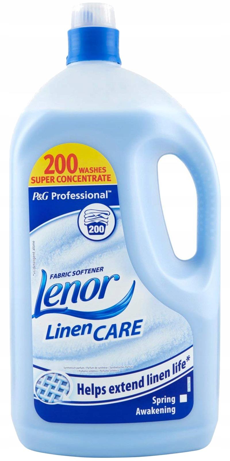 Ленор Весна Пробуждение Blue Liquid 4L 200pr Великобритания