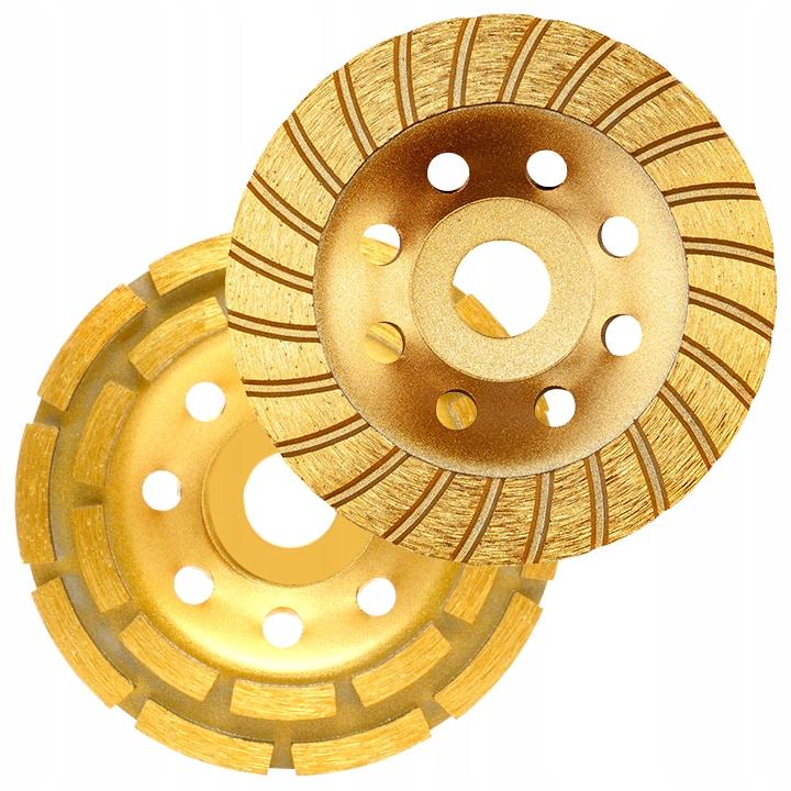 диски для ШЛИФОВАНИЯ бетона для чистки 125 мм комплект