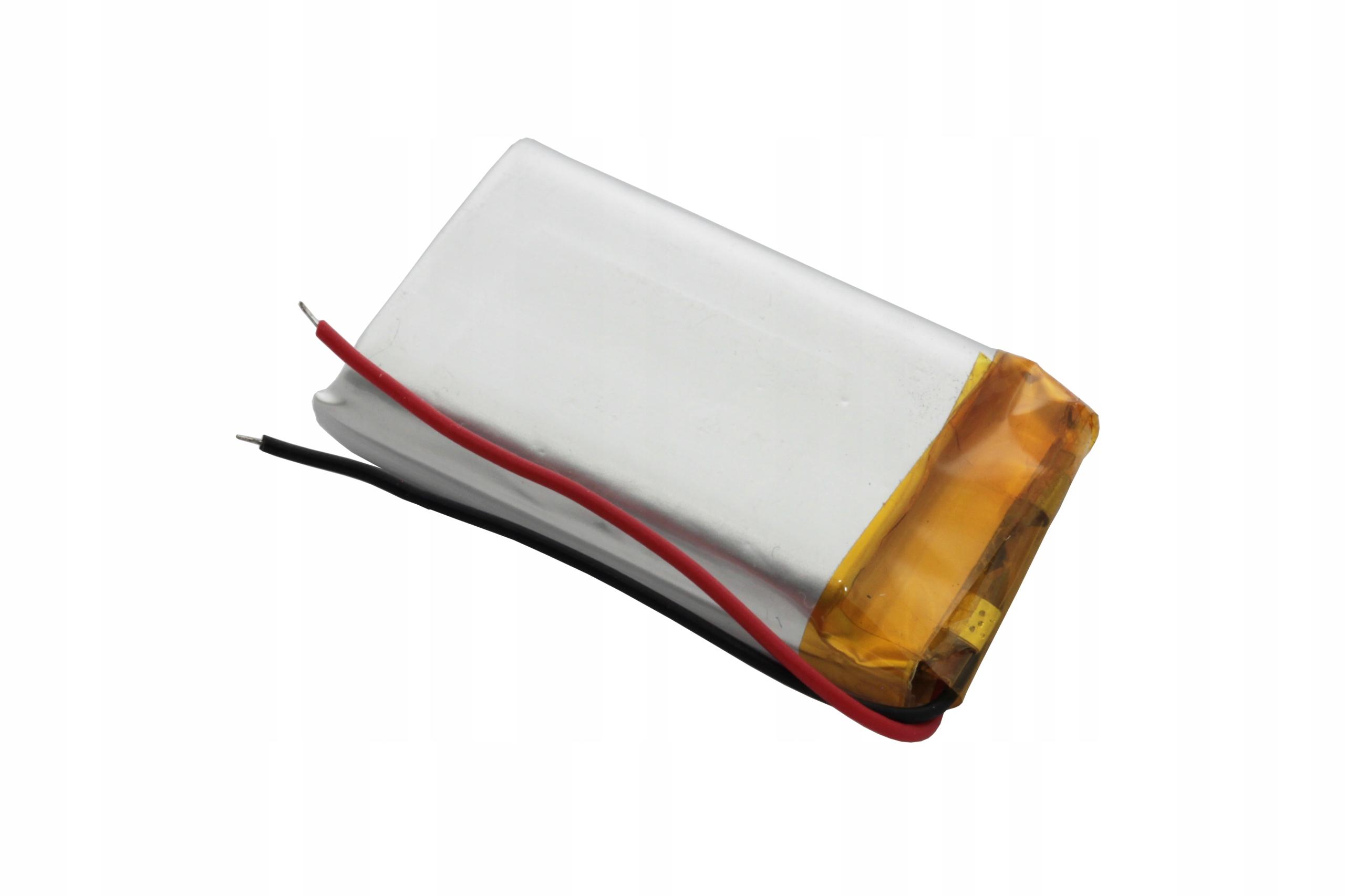 AKUMULATOR PRYZMATYCZNY Li-POLy 3,7V 850mAh 802540 Marka AmElectronics