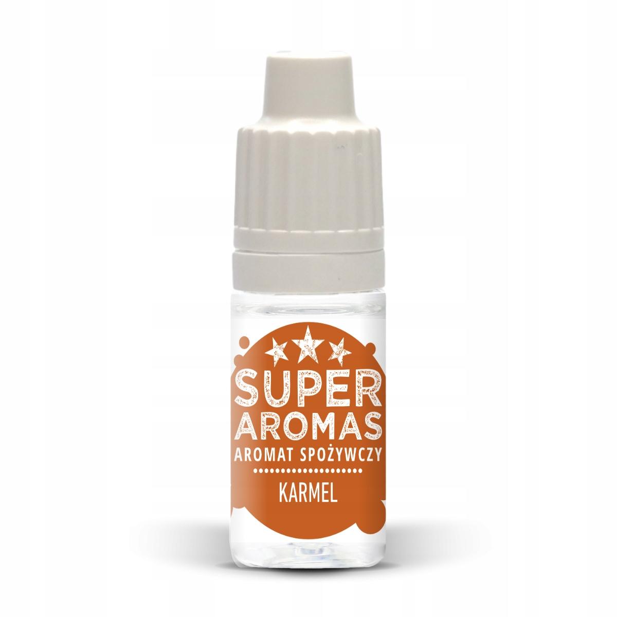 SUPER AROMAS Aromat spożywczy KARMEL 10 ml