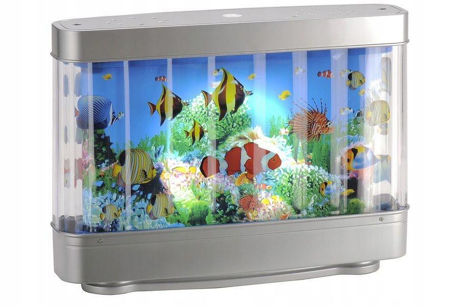 Lampka Akwarium Plywajace Rybki Nocna Biurkowa Led 8969328569 Allegro Pl