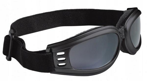 HELD SMOKE 9817 Čierne motocyklové okuliare