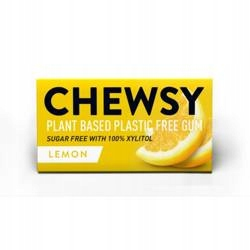 Жевательная резинка Chewsy Lemon с ксилитом 15 г