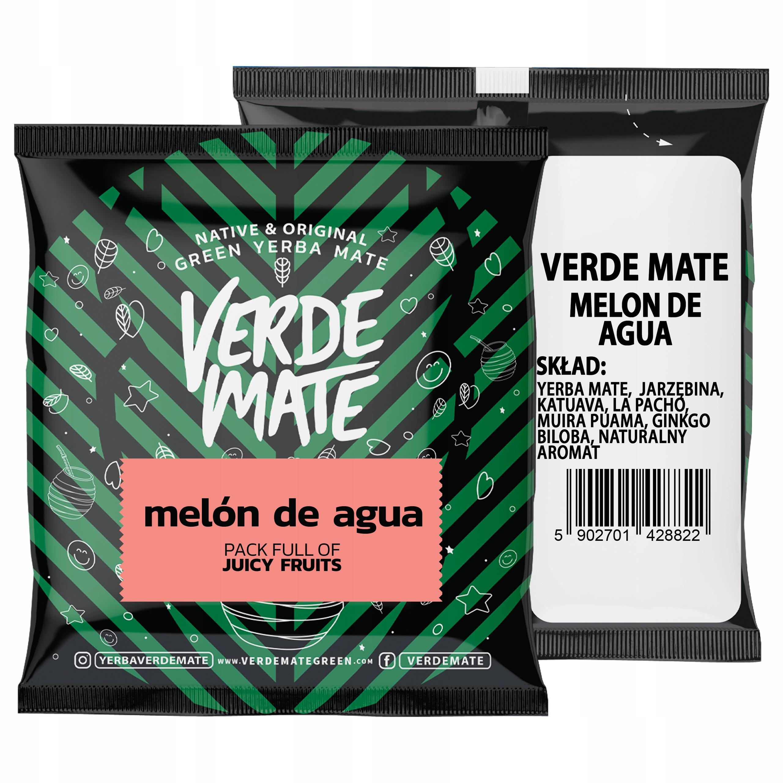 Yerba Verde Mate Green Melón de Agua 50g próbka