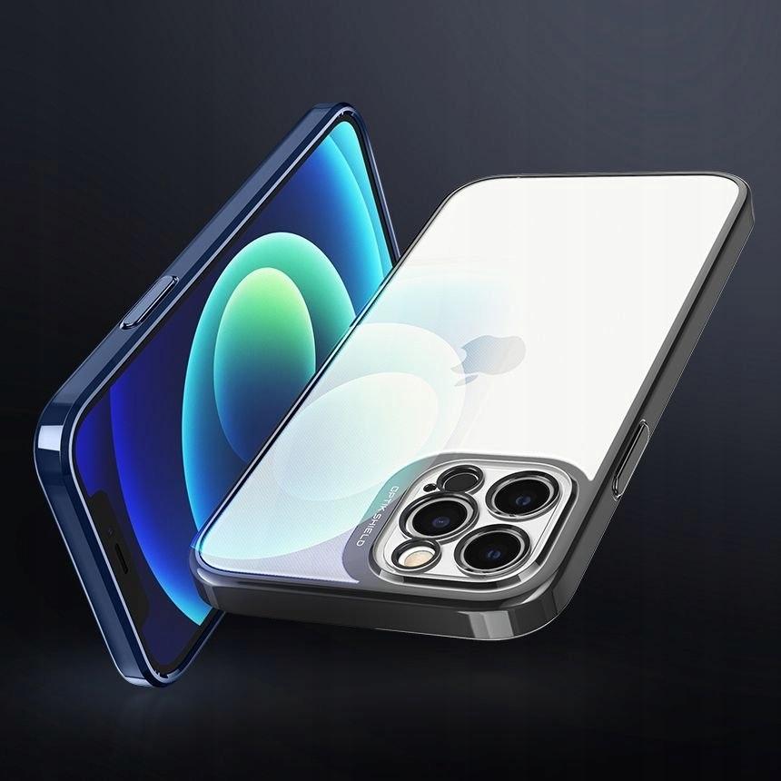 Etui Spigen Optik Crystal + Szkło do iPhone 12 Pro Przeznaczenie Apple
